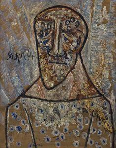 Untitled - Francis Newton Souza - Live Auction Modern Evening Sale