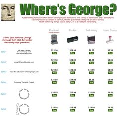 Where's George Rubber Stamps