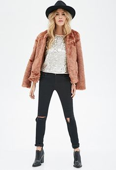 Sequined Top   Forever 21 - 2000117030