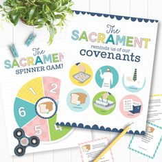 The Sacrament Reminds Us of Our Covenants - Primary 3 Lesson 33 - AWESOME Primary games, teaching ideas, and more!