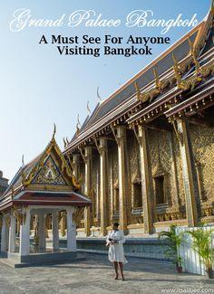 Grand Palace Bangkok | A Must-See For Anyone Visiting Bangkok (+Tips!)  www.itsallbee.com   #Thailand #Asia #Phuket