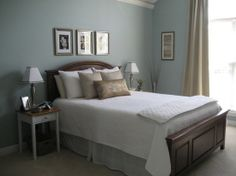 wedgewood gray | ... the color we are painting our bedroom: Benjamin Moore Wedgewood Gray