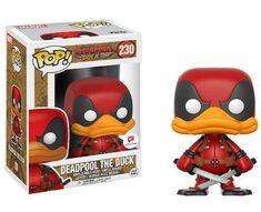 6cf51a9d4d5 Marvel Pop! Vinyl Figurine Deadpool The Duck N° 230 Venez commencer ou  compléter votre