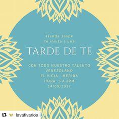#Repost @lavativarios Te invitamos a conocer nuestra propuesta de #tasselearrings esta tarde de 5 a 8pm en nuestra querida tienda Aliada @Jaspe_Vzla  apoyando a muchas marcas de diseño nacional que hacemos vida en la mejor Vitrina de Talentos del occidente venezolano. La cita es en el centro Comercial Junior Mall #ElVigia estado #Merida  Nota: confirma asistencia al número de la bio de la Tienda y prepárate a disfrutar de una maravillosa tarde con lo mejor del Talento de Venezuela…
