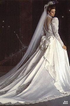 Винтажные идеи для свадебного платья