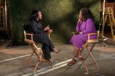 Lynn Whitfield and Oprah Winfrey
