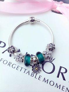 50% OFF!!! $199 Pandora Charm Bracelet. Hot Sale!!! SKU: CB01130 - PANDORA Bracelet Ideas