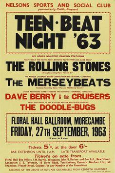 27.9.1963; the rolling stones; gbr, morecambe, floral hall; (db)