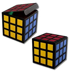 JMRush Designs: Color Cube Treat Box