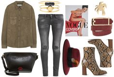 Snake boots - Styled by Manon