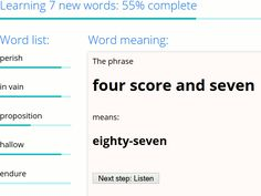 Rewordify simplifies difficult English text. Users can just enter text that they are having trouble understanding and Rewordify will output a simplified version of the text.