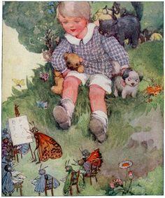 Illustrations vintages ( anges et divers ) A.A