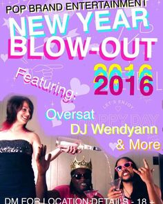 New Year's Eve with Oversat! Dec 31st 2015