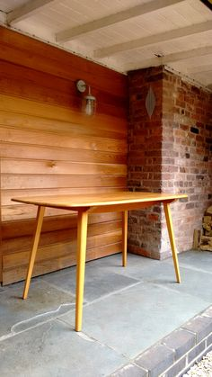 Vinterior is the online marketplace where the world buys and sells remarkable vintage and antique furniture across every lifestyle, budget and taste. Retro Furniture, Antique Furniture, Outdoor Furniture, Outdoor Decor, Mid Century Furniture, Plank, Tables, Dining Table, Elegant