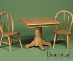 Kid's Table & Bow Chairs. http://www.homesteadfurnitureonline.com/youth-furniture_table-bow-chairs.html