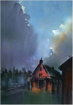 Thomas W. Schaller「after the rain」