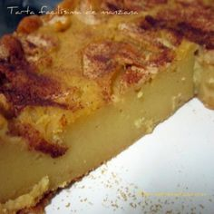 Tarta de Manzana (Thermomix)
