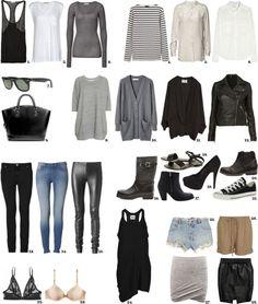 Basic wardrobe!