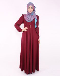 Best Prices from Top China Brands Onlinecincaibuy Malaysia Muslim Dress, Hijab Dress, Dress Outfits, Modest Fashion, Hijab Fashion, Fashion Dresses, Moslem Fashion, Dress With Shawl, Abaya Designs