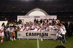 Los festejos de River campeón.  Foto:LA NACION /Emiliano Lasalvia
