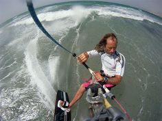 The Scientologist kitesurfer from South Africa