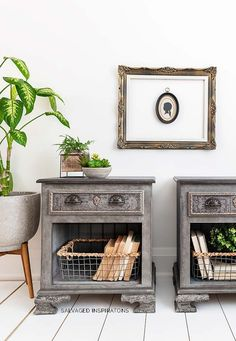14 GORGEOUS WoodUbend Makeovers - Salvaged Inspirations Desk Makeover, Furniture Makeover, Diy Furniture, Painted China Cabinets, Painted Drawers, Repurposed Furniture, Painted Furniture, Wood Appliques, Happy Paintings