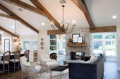 Fixer Upper's Best Living Room Designs and Ideas | HGTV's Fixer Upper With Chip and Joanna Gaines | HGTV