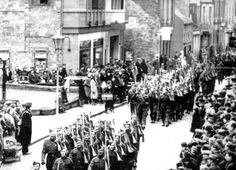 Home Guard - stand down parade 1944