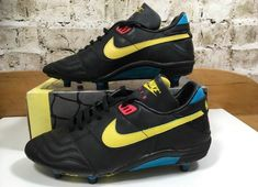 887ed5ff5 1991 Nike Air Roma Football Boots. Air Football, Football Boots, Football  Cards,
