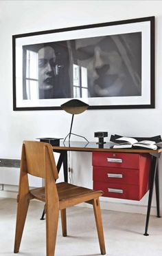 home office decor, modern decor, vintage furniture, interior design, for more… Home Office Inspiration, Workspace Inspiration, Paris Home, Mid-century Interior, Interior Architecture, Interior Design, Interior Styling, Retro Home Decor, Home Office Decor