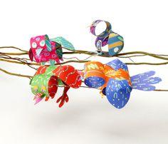 Loopy Birds craft #Crayola #DIY #spring