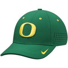 Oregon Ducks Nike Dri-FIT Sideline Swoosh Flex Hat - Green