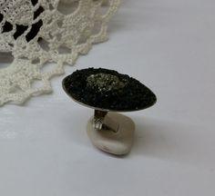 163 mm Besteckschmuck Silberbesteck Ring von BesteckschmuckBaron