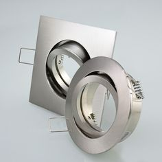 Einbaustrahler Einbauleuchte Einbauspot Rostfrei Rund Eckig Deckenlampe LED 401