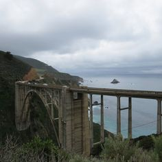 Must-see places to visit while in Big Sur! Also a personalized map of all locations for you to use. Big Sur California, California Travel, Big Sur Hotel, Nikon Photography, National Parks, Road Trip, Scenery, Places To Visit, Bixby Bridge