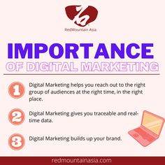 Never underestimate the importance of Digital Marketing! It certainly helps you boost sales and raise visibility in the online community. To learn more about our Digital Marketing Services in Hong Kong, visit our website, or email; enquiry@redmountainasia.com App Marketing, Marketing Approach, Digital Marketing Strategy, Social Media Marketing, Online Marketing Consultant, Online Marketing Services, Reputation Management, Hong Kong, Community