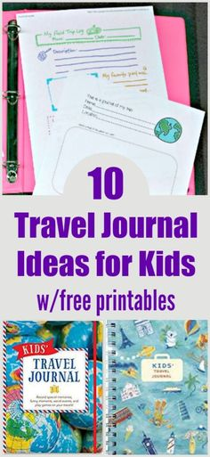 Awesome Travel Journal Ideas for Kids with free printables! is part of Awesome Travel Journal Ideas For Kids With Free Printables - Colorful and free travel journal pages for kids along with some wonderful books to record your trip! Scrapbook Printables, Free Printables, New Travel, Family Travel, Travel Books, Vacation Travel, Family Vacations, Family Trips, Cruise Travel