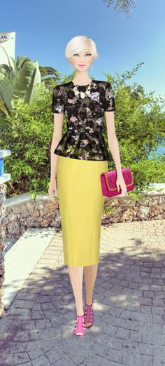Spanish Socialite Outfit Covet Fashion Game