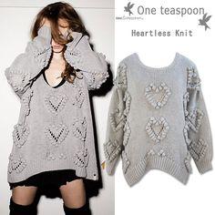 One Teaspoonheatless knit