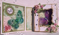 1st Christmas, Christmas Cards, Daisy May, September 31, B Line, Frantic Stamper, Quick Cards, Butterfly Cards, Cards For Friends