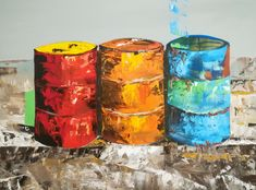 Pillar Candles, Painting, Painting Art, Paintings, Paint, Draw, Taper Candles, Candles
