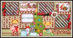 A Layout combining A Beary Happy Christmas, Tear Teddy Night time Pals, Kiddie Pals and Tiny Treasure Mouse-DT Jess https://www.facebook.com/ScrapbookinMomma?ref=hl