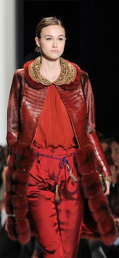 Dennis Basso Fall 2014 | Hannah  Fay - Inspire and Enrich yourself