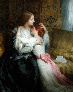 frank dicksee | Sir Frank Dicksee, (1853-1928): La madre , 1907.                                                                                                                                                                                 Más