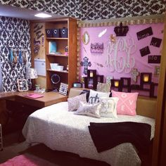Texas Tech Dorm room! gates hall