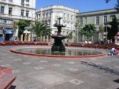 Fui la primera plaza de la ciudad. Es muy bonito. Se encuentra en Valparaiso, Chile