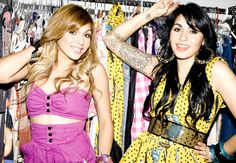 Nina SKy for Missbehave WInter 2009 Photo by MarleyKate, Styling by Radio Rose Garcia