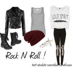 """""""Rock N' Roll !"""" by best-absolute-marvelous on Polyvore"""