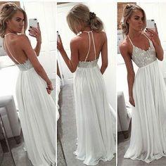 Bg395 New Arrival Halter Prom Dress,Chiffon Prom Dresses,Backless