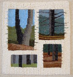 Tommye McClure Scanlin ~ artist and teacher ~ tapestry and other things ~ Dahlonega, GA, USA Weaving Textiles, Weaving Art, Loom Weaving, Hand Weaving, Navajo Weaving, Tapestry Loom, Tree Tapestry, Making Friendship Bracelets, Contemporary Tapestries